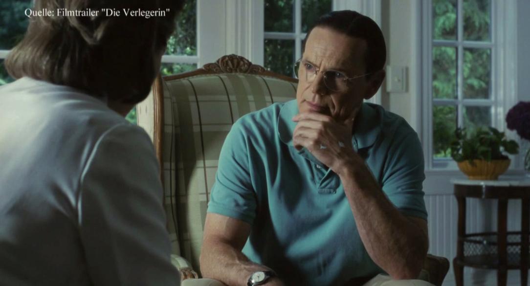 """Tom spricht Bruce Greenwood in """"Die Verlegerin"""""""
