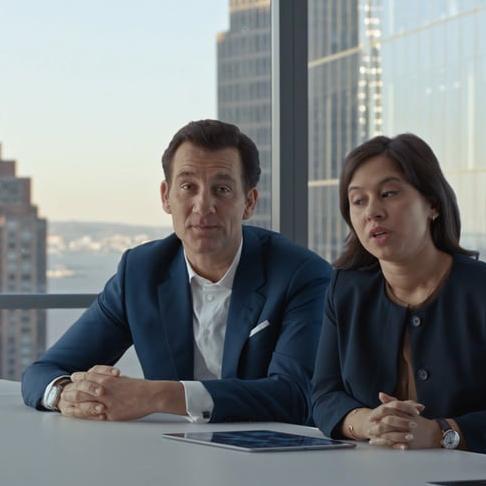 Neuer SAP-Werbespot mit Clive Owen und Tom